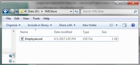 Oracle XML DB - XML Files on Disk[12]
